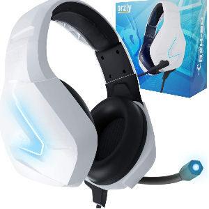 Auriculares gaming RGB con cancelación de ruido y micrófono
