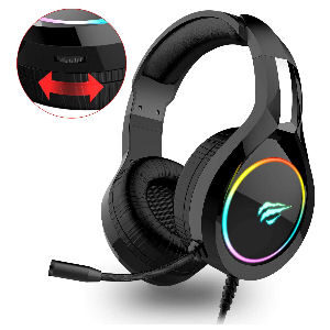 Cascos gaming con luz PS4