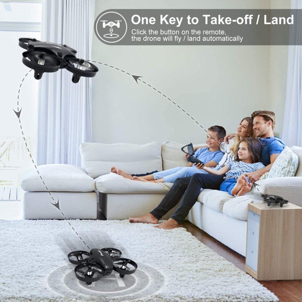dron fácil para niños con un botón