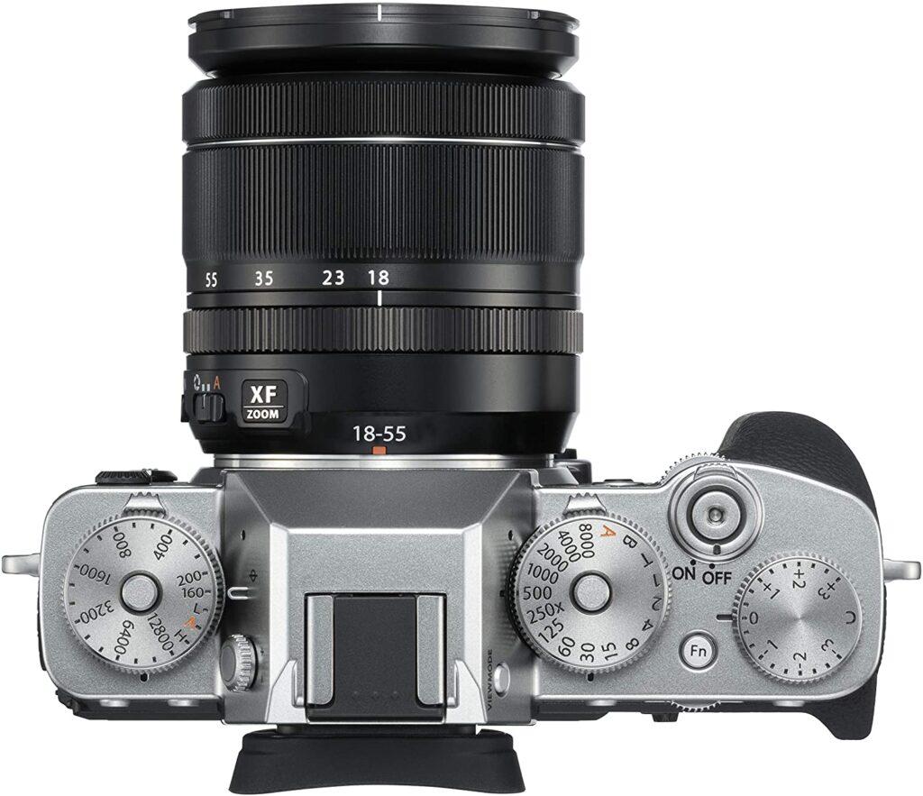 Fujifilm XT3 cuerpo con objetivo