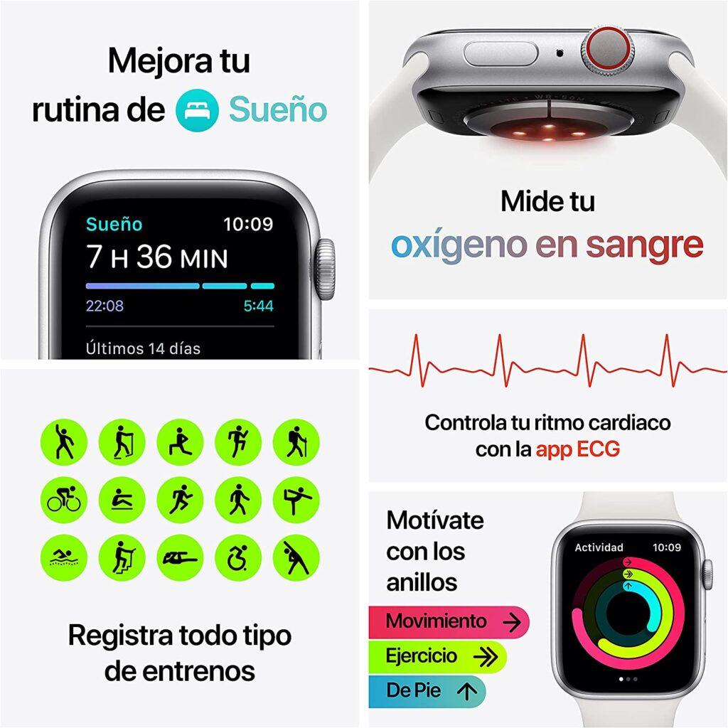 Funciones del reloj apple watch 6