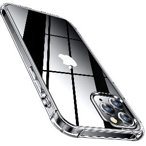 Funda Iphone 12 Pro Max transparente barata