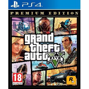 GTA 5 edición premium para ps4