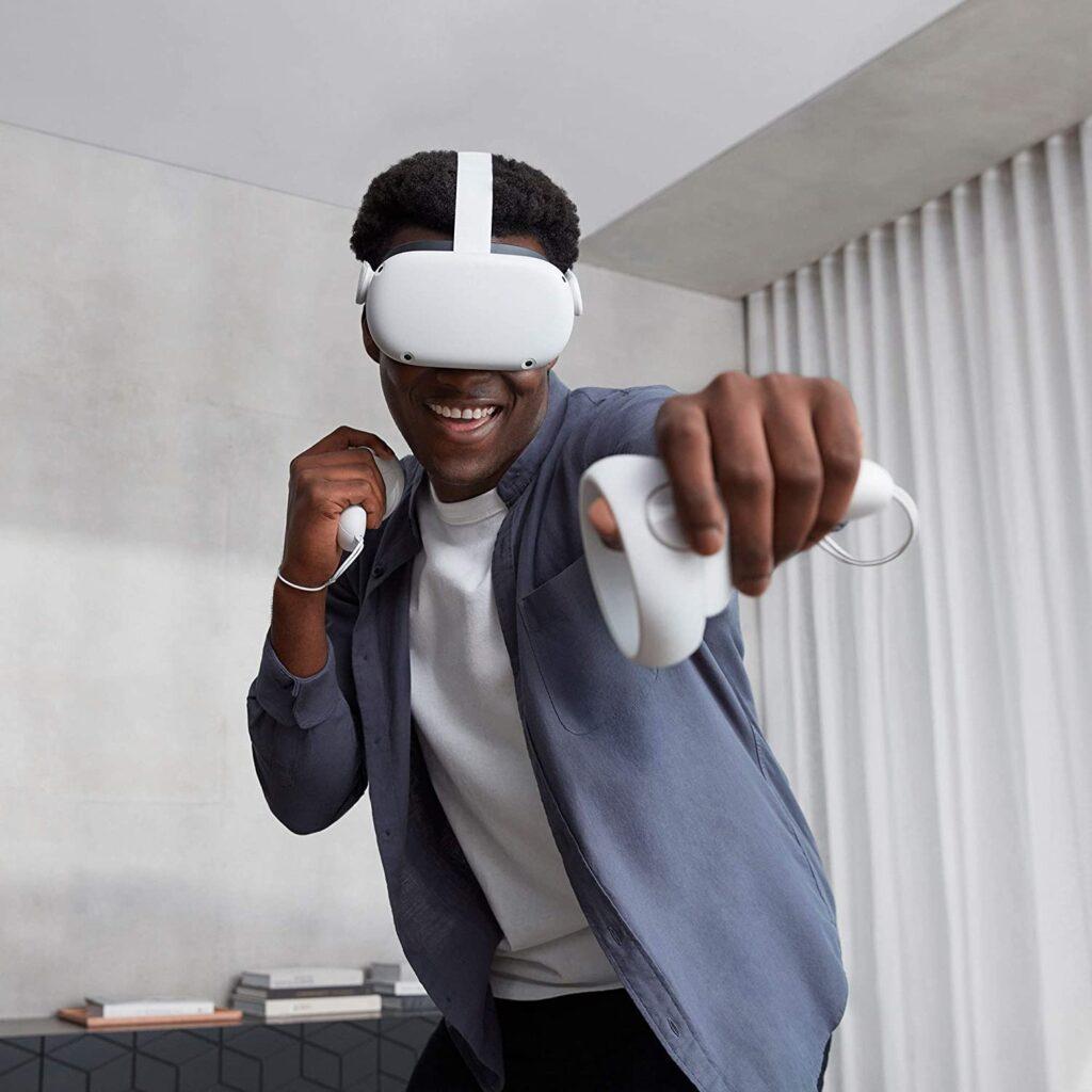 Gafas de realidad virtual para jugar juegos en 3d y 360 grados