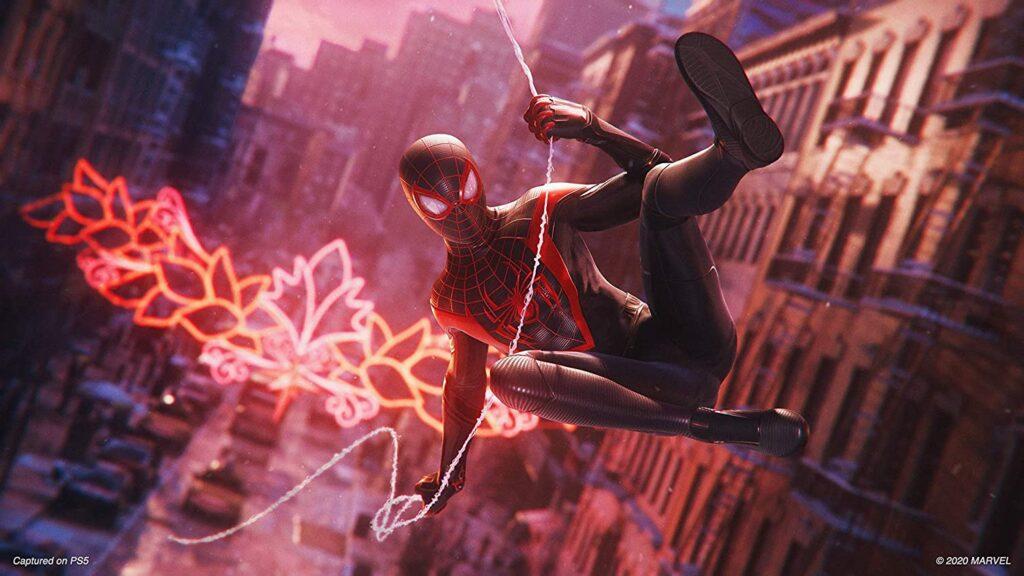 Imagen Juego Spiderman Miles Morales ps5 2