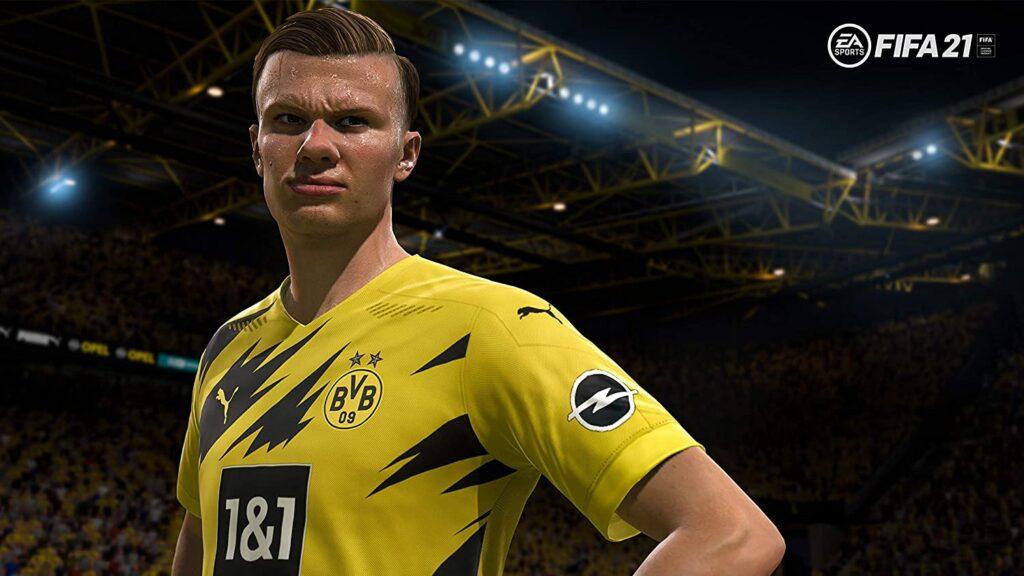 Imagen juego Fifa 2021 en xbox series x