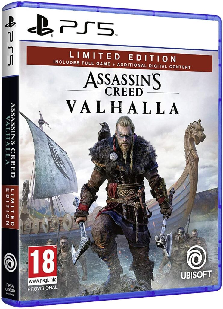 Juego Assassins Creed Valhalla ps5 barato en oferta 2