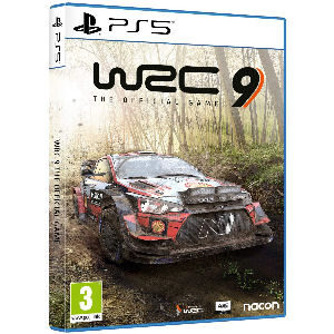 Juego WRC9 ps5, world rally championship 9 the official game para playstation 5