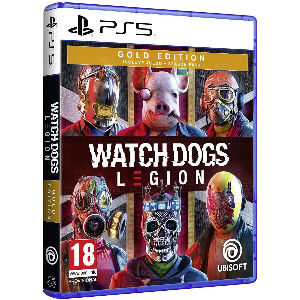 Juego Watch Dogs Legion gold ps5