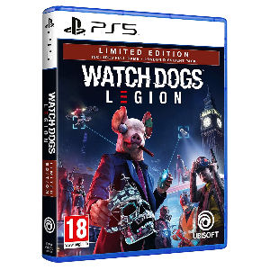 Juego Watch Dogs Legion ps5 limited edition para playstation 5