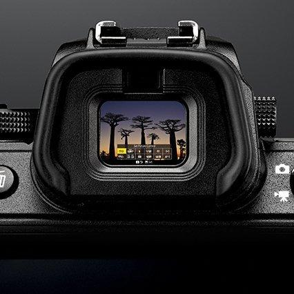 Nikon visor electrónico
