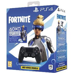 Pack mando Ps4 Fortnite con skin exclusiva