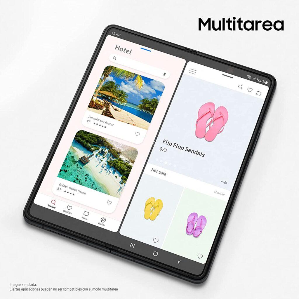 Pantalla multitarea del Samsung Fold 3
