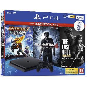 Playstation 4 con 3 juegos barata