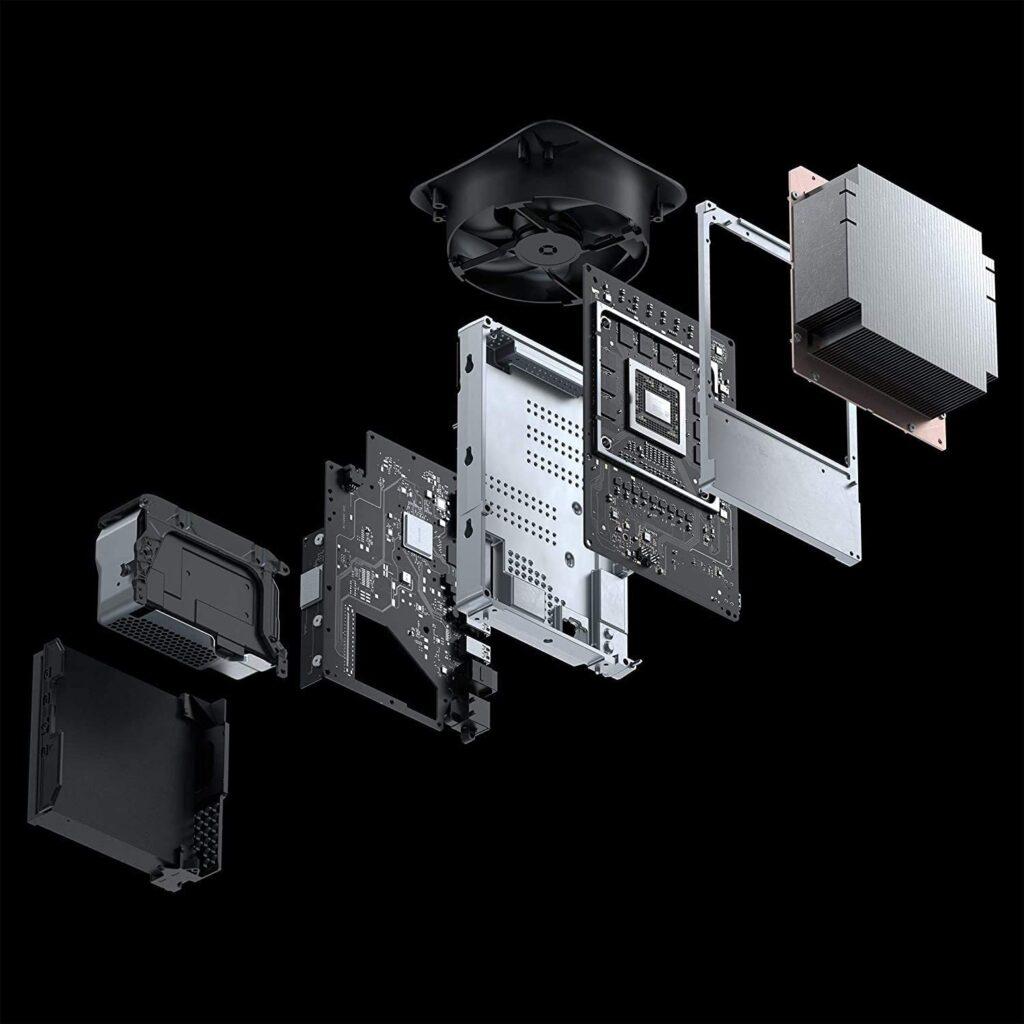 Potencia de la consola xbox series x