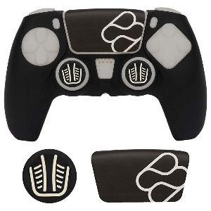 Protector para mando ps5, protector de silicona negro para mando de PlayStation 5