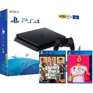 PS4 slim con 2 juegos barata