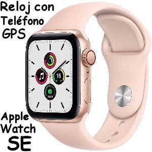 Reloj Apple Watch SE con telefono y GPS