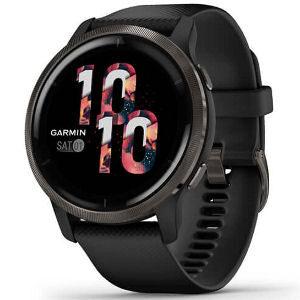 Reloj inteligente Garmin Venu 2 con GPS, música, con 25 aplicaciones deportivas para el exterior monitorizadas con GPS