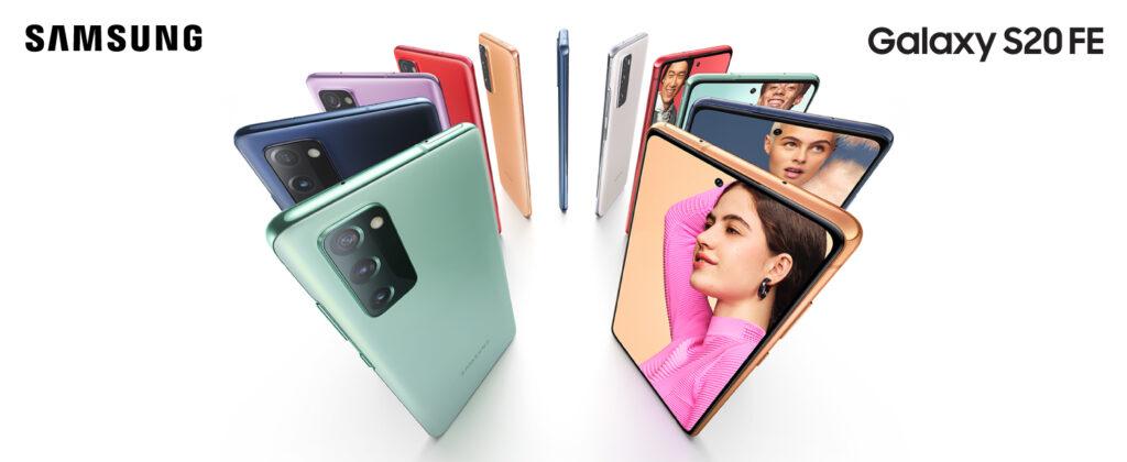 Samsung S20 FE colores disponibles