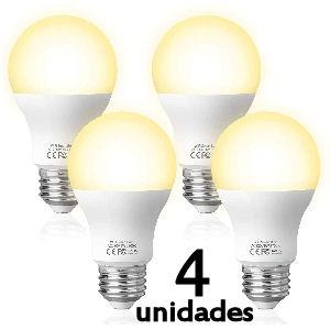 Set de bombillas Alexa LED de casquillo gordo