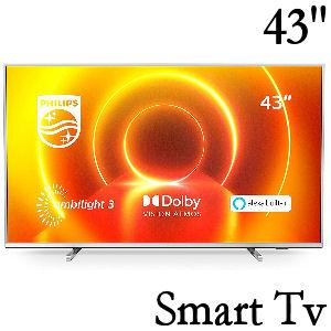 Tv Philips de 43 pulgadas con resolución 4K y alexa