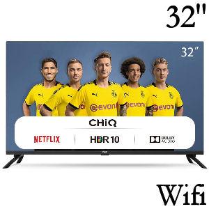 Tv de 32 pulgadas con Wifi, Bluetooth y aplicaciones App como Netflix, Prime Video, Youtube, Facebook