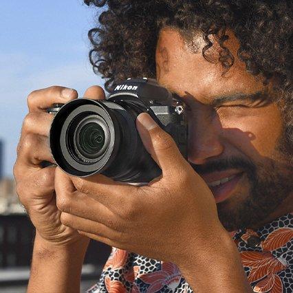 Visor electrónico Nikon sin espejo