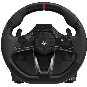 Volante Apex Hori para oficial de PlayStation o Pc, con tecnología TouchSense, se puede fijar con abrazadera o ventosas