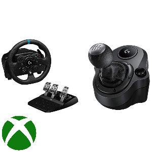 Volante logitech G29 G923 con palanca de cambios Driving Force, volante de carreras con pedales para Xbox