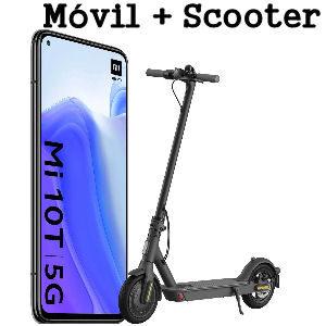 Xiami Mi 10T 6 GB RAM y 128 GB almacenamiento pack con Scooter Mi Essential