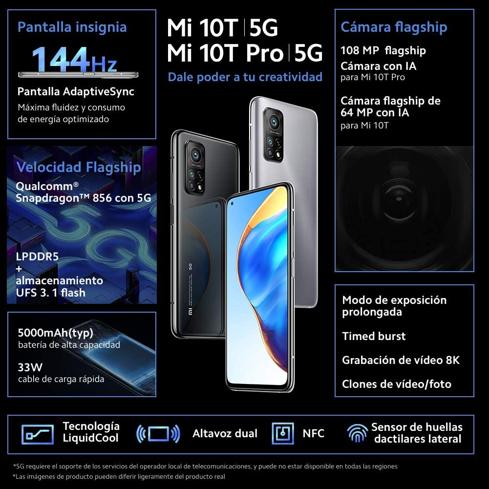 Xiaomi Mi 10T características