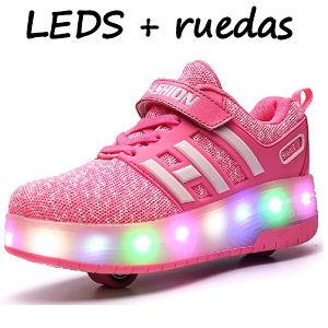 Zapatillas con luces para niños